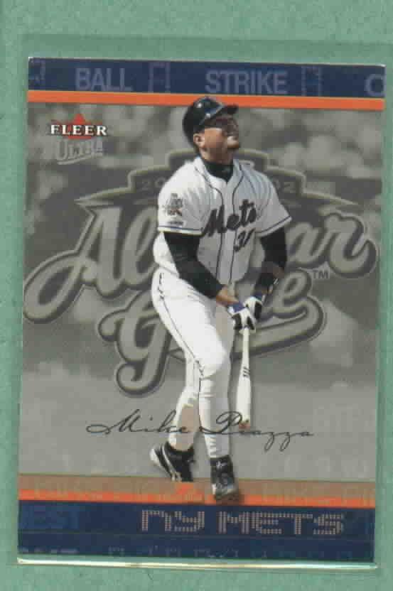 2003 Fleer Ultra All Star Mike Piazza New York Mets # 213