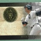2012 Topps Gold Standard Alex Rodriguez New York Yankees # GS-13