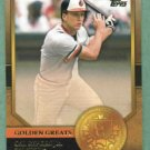 2012 Topps Golden Greats Cal Ripken Jr. Baltimore Orioles # GG-42
