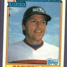 1984 Ralston Purina Carlton Fisk Chicago White Sox Oddball Baseball Card # 33