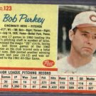 1962 Post Bob Purkey Cincinnati Reds # 123
