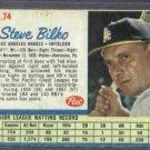 1962 Post Steve Bilko Los Angeles Angels # 74
