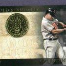 2012 Topps Gold Standard Cal Ripken Jr Baltimore Orioles # GS-4