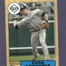 2012 Topps Mini Retro 1987 Evan Longoria Tampa Bay Rays # TM20