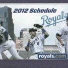 2012 Kansas City Royals Pocket Schedule