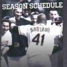 2012 Cleveland Indians Pocket Schedule