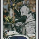 2012 Topps Wilin Rosario Colorado Rockies # 184 Rookie Card