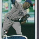 2012 Topps Kelvin Herrera Kansas City Royals # 211 Rookie Card