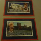 2 Washington Nationals Post Cards