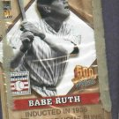 2001 Topps Post 500 HR Club Babe Ruth / Harmon Killebrew Unopened Pack Yankees Oddball