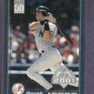 2001 Topps Opening Day Derek Jeter New York Yankees # 35
