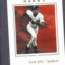 2003 Fleer Avant Derek Jeter New York Yankees # 21