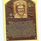 Baseball Hall Of Fame Postcard Mickey Mantle New York Yankees