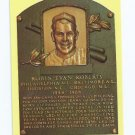 Baseball Hall Of Fame Postcard Robin Roberts Baltimore Orioles Houston Chicago Cubs