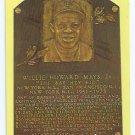 Baseball Hall Of Fame Postcard Willie Mays New York San Francisco Giants Mets