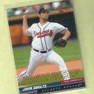 2001 Leaf Press Proof John Smoltz Atlanta Braves # 275 Team Checklist