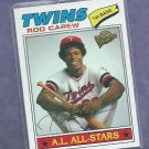 2003 Topps All Time Fan Favorites Rod Carew Minnesota Twins # 7