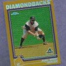 2004 Topps Chrome Gold Junior Spivey Arizona Diamondbacks # 14