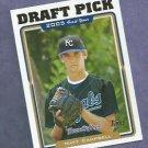 2005 Topps Matt Campbell Kansas City Royals Rookie Draft Pick # 670