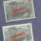 2 Diff. Ray Dandridge 1992 Front Row Promo Cards # 1 & 2 Oddball