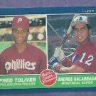 1986 Fleer Andres Galarraga ROOKIE Montreal Expos # 647