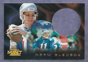 1996 Pinnacle Mint Drew Bledsoe  New England Patriots # 13