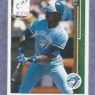 1989 Upper Deck Fred McGriff Toronto Blue Jays # 572