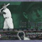 2002 Upper Deck Piece Of History Joe Dimaggio New York Yankees # 39