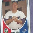 2002 Topps Super Teams 55 Johnny Podres Dodgers # 27 Oddball
