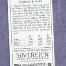 2003 Topps 205 MINI Sovereign Back Sammy Sosa Chicago Cubs # 51