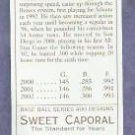 2003 Topps 205 MINI Sweet Caporal Back Ryan Klesko Atlanta Braves # 78