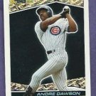 1993 Topps Black Gold Andre Dawson Chicago Cubs # 4