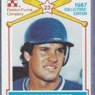 1987 Ralston Purina Ryne Sandberg Chicago Cubs Oddball # 15