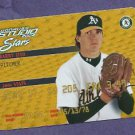 2002 Leaf Studio Stars Barry Zito #D 7/250  # SS-49 Oakland A's Giants