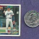 1991 Topps Cracker Jack Orel Hershiser Los Angeles Dodgers # 17 Oddball