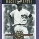 2001 Upper Deck Hall Of Famers Mickey Mantle New York Yankees # 49