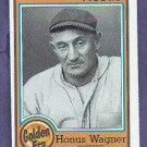 1987 Nestle All Time Dream Team Honus Wagner # 4 Pittsburgh Pirates Oddball