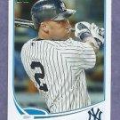 2013 Topps Baseball Derek Jeter New York Yankees # 2