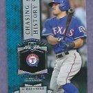 2013 Topps Baseball Chasing History Ian Kinsler Texas Rangers # CH-3 Insert