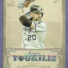 2013 Topps Baseball Calling Card Kevin Youkilis Chicago White Sox # CC-12 Insert