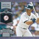 2013 Topps Baseball Chasing History Don Mattingly New York Yankees # CH-13 Insert