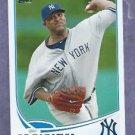 2013 Topps Baseball CC Sabathia New York Yankees # 52