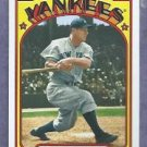 2013 Topps Baseball 1972 Mini Lou Gehrig New York Yankees Insert # TM-48