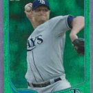 2013 Topps Baseball Emerald Alex Cobb Tampa Bay Rays Insert # 53