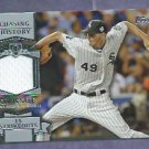2013 Topps Baseball Chasing History Chris Sale Chicago White Sox Jersey Card # CHR-CSA