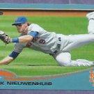 2013 Topps Baseball Walmart Blue Kirk Nieuwenhuis New York Mets # 109