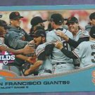 2013 Topps Baseball Walmart Blue San Francisco Giants NLDS Game 5 # 260