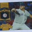 2013 Topps Baseball Chasing History Mark Bueherle Toronto Blue Jays # CH-44 GOLD FOIL VARIATION