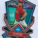 2013 Topps Baseball Yu Darvish Cut To The Chase Insert Texas Rangers # CTC-11