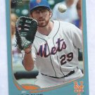 2013 Topps Baseball Walmart Blue Ike Davis New York Mets # 129